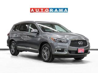 Used 2017 Infiniti QX60 Premium AWD Navigation Leather Sunroof Backup Cam for sale in Toronto, ON