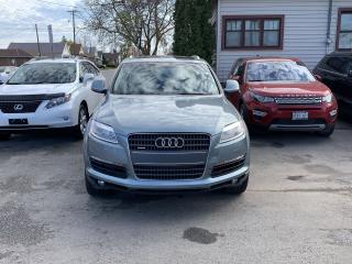 Used 2007 Audi Q7 PREMIUM*Heated Steering*AWD*DVD*Panoramic Roof* for sale in Hamilton, ON
