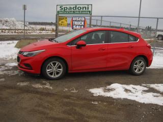 Used 2018 Chevrolet Cruze LT for sale in Thunder Bay, ON