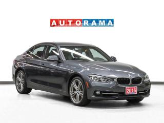 Used 2016 BMW 328xi xDrive Navigation Leather Sunroof Backup Camera for sale in Toronto, ON