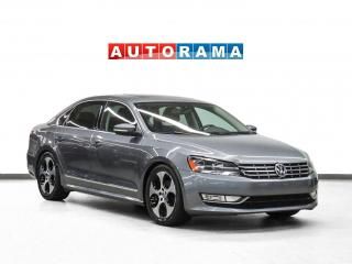 Used 2015 Volkswagen Passat Highline Letherette Nav Sunroof Backup Camera for sale in Toronto, ON