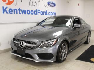 Used 2017 Mercedes-Benz C-Class c300 | AWD | Heated Leather | Sunroof | NAV and much more! for sale in Edmonton, AB