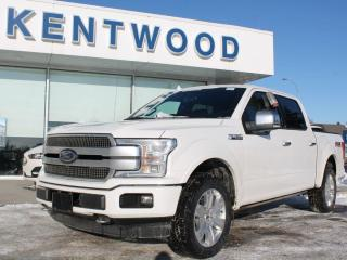 New 2020 Ford F-150 Platinum 700A | 4X4 | 5.0L V8 | Power Heated/Ventilated Seats | Lane Keeping System | Pre-Collision Assist | Rear View Camera | Trailer Tow Package | Navigation for sale in Edmonton, AB