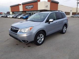 Used 2015 Subaru Forester i Touring w/Tech Pkg 4dr AWD Sport Utility for sale in Steinbach, MB