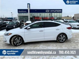 Used 2017 Hyundai Elantra LIMITED/LEATHER/ROOF/BLINDSPOT for sale in Edmonton, AB
