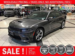 Used 2020 Dodge Charger GT - No Accident / Nav / Sunroof for sale in Richmond, BC