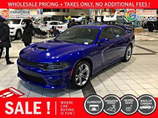 Used 2020 Dodge Charger GT - Accident Free / Nav / Sunroof for sale in Richmond, BC