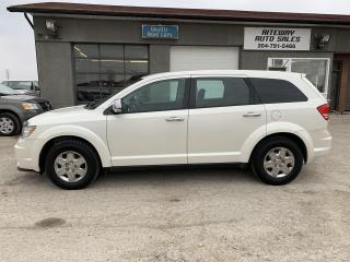 Used 2012 Dodge Journey Canada Value Pkg for sale in Headingley, MB