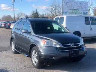 Used 2011 Honda CR-V EX-L w/Navi for sale in Komoka, ON