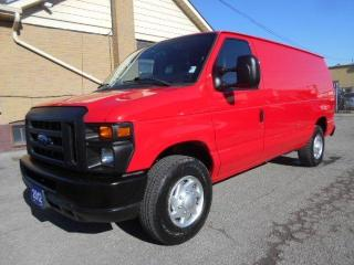 2012 Ford E-250 CARGO 5.4L V8 Loaded Divider Shelving 122,000Km
