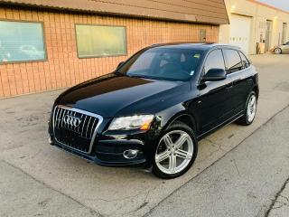 Used 2011 Audi Q5 3.2L PRESTIGE | S-LINE | NO ACCIDENTS for sale in Burlington, ON
