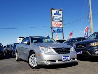 Used 2009 Chrysler Sebring No accident | Low Km'S |2dr Conv Touring for sale in Brampton, ON