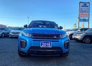 Used 2018 Land Rover Range Rover Evoque Landmark Special Edition | Fully Loaded |Low Km's for sale in Brampton, ON