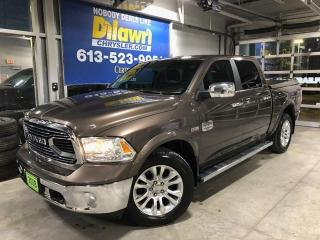Used 2018 RAM 1500 Laramie Longhorn Crew 4X4 | Premium Leather, Nav for sale in Nepean, ON