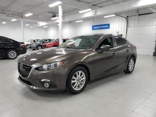 Used 2015 Mazda MAZDA3 GS - CAMERA + SIEGES CHAUFFANTS + JAMAIS ACCIDENTE for sale in Saint-Eustache, QC