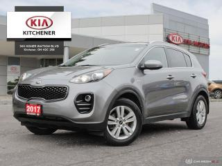 Used 2017 Kia Sportage LX AWD - CARFAX CLEAN for sale in Kitchener, ON