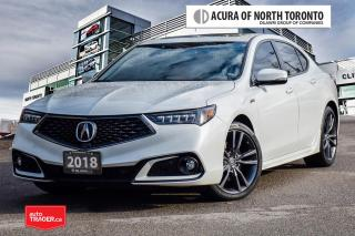 Used 2018 Acura TLX 3.5L SH-AWD w/Tech Pkg A-Spec Red No Accident| App for sale in Thornhill, ON