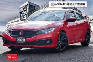 Used 2020 Honda Civic Sedan Sport CVT No Accident| Like New| Remote Star for sale in Thornhill, ON