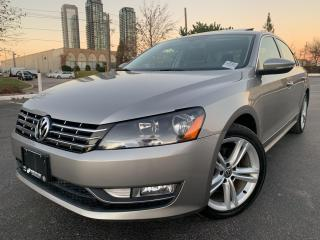 Used 2012 Volkswagen Passat 2.0 TDI DSG Highline NAVIGATION BACK UP CAMERA for sale in Concord, ON