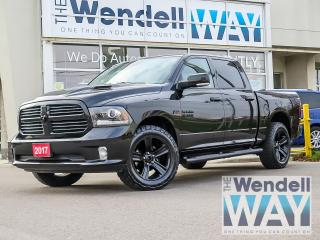 Used 2017 RAM 1500 Sport Nav/Roof/Tow for sale in Kitchener, ON