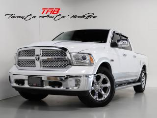 Used 2015 RAM 1500 LARAMIE I CREW CAB I NAVI I LOCAL VEHICLE for sale in Vaughan, ON
