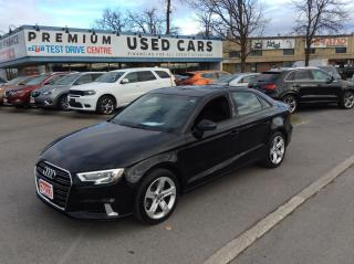 Used 2017 Audi A3 2.0T Komfort - LEATHER - SUNROOF! for sale in Ottawa, ON