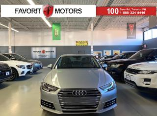 Used 2017 Audi A4 Progressiv|QUATTRO|NAV|SUNROOF|LEATHER|HEATEDSEATS for sale in North York, ON