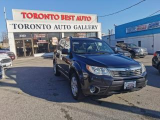 Used 2010 Subaru Forester 5dr Wgn Auto 2.5X Limited|ONE OWNER|NO ACCIDENT for sale in Toronto, ON