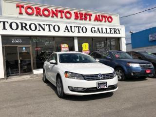 Used 2013 Volkswagen Passat 2.0 TDI Comfortline|CLEAN CARFAX| TINTED WINDOW| LOW MILEAGE for sale in Toronto, ON