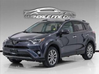Used 2017 Toyota RAV4 AWD Limited Navi, Camera, Roof, Fully Loaded for sale in Concord, ON