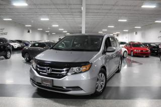 Used 2016 Honda Odyssey EX-L I NAVIGATION I LEATHER I SUNROOF I REAR CAM I LANEWATCH for sale in Mississauga, ON