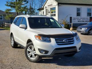 Used 2012 Hyundai Santa Fe No Accidents AWD V6 Sunroof BLTH Heated Power Leather Seats for sale in Sutton, ON