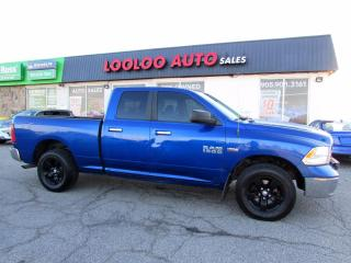 Used 2016 RAM 1500 SLT Quad Cab 4WD 5.7L Hemi Camera Bluetooth Certified for sale in Milton, ON