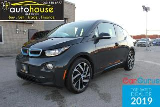 Used 2015 BMW i3 ELECTRIC / FULL LEATHER / NEW TIRES / LONG RANGE / for sale in Newmarket, ON