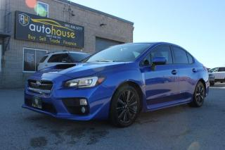 Used 2015 Subaru WRX Manual / Sport-tech Pkg / Leather / Sunroof / New tires /AWD for sale in Newmarket, ON