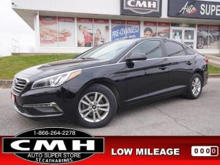 Used 2016 Hyundai Sonata GL  CAM BT HTD-SEATS PWR-GROUP 16-AL for sale in St. Catharines, ON