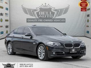 Used 2016 BMW 5 Series 528i xDrive, AWD, NAVI, REAR CAM, SUNROOF, SENSORS for sale in Toronto, ON