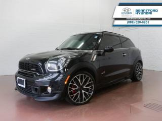 Used 2013 MINI Cooper Paceman BLUETOOTH | SUNROOF | MANUAL  - $131 B/W for sale in Brantford, ON
