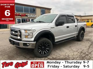 Used 2016 Ford F-150 XLT | LIFT-KIT | MotoMetal Rims | Crew 5.0L 4x4 | for sale in St Catharines, ON