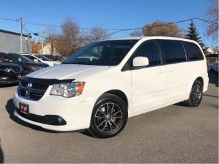 Used 2017 Dodge Grand Caravan Leather/Cloth 2 Pwr Sliding Doors Park Assist Rear for sale in St Catharines, ON