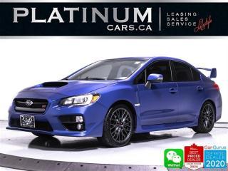 Used 2016 Subaru WRX STI, SPORT TECH, AWD, NAV, CAM, SUNROOF, SPOILER for sale in Toronto, ON