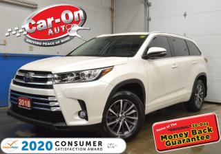 Used 2018 Toyota Highlander XLE AWD LEATHER NAVIGATION SUNROOF for sale in Ottawa, ON