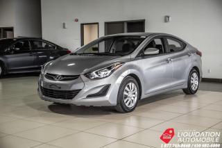 Used 2015 Hyundai Elantra SIEG/CHAUFF+GR.ELECT+AIR+BLUETHOOTH for sale in Laval, QC