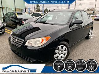 Used 2009 Hyundai Elantra GL BANCS CHAUFFANTS, A/C, VITRES ÉLECTRI for sale in Blainville, QC