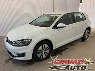 Used 2020 Volkswagen Golf e-Golf NEUF / Technologie / Cuir / GPS / Comfortline for sale in Trois-Rivières, QC