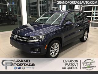 Used 2017 Volkswagen Tiguan Édition Wolfsburg 4 portes 4MOTION for sale in Rivière-Du-Loup, QC