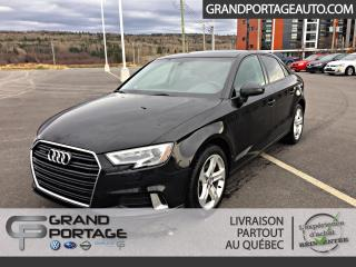 Used 2017 Audi A3 2.0T Komfort quattro berline 4 portes for sale in Rivière-Du-Loup, QC