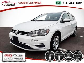 Used 2019 Volkswagen Golf COMFORTLINE* AWD* SPORTWAGEN* for sale in Québec, QC