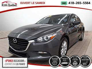 Used 2017 Mazda MAZDA3 GS* 5 PORTES* CAMERA* SIEGES CHAUFFANTS* for sale in Québec, QC