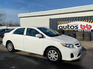 Used 2013 Toyota Corolla Berline 4 portes, for sale in Laval, QC